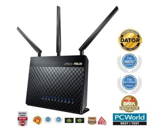 Asus RT-AC68U Dual-Band Wireless 1900Mbps Router shop tilbud