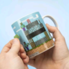 Minecraft - Build a Level Mug (PP6730MCF) shop tilbud