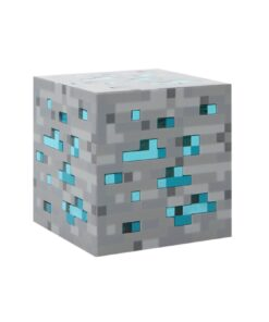 Minecraft Diamond Block - Light up shop tilbud